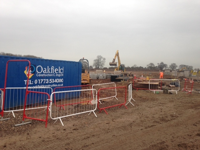 Oakfield Construction - On Site